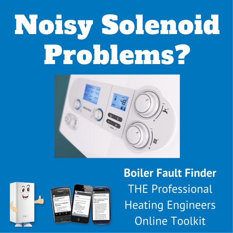 noisy solenoid problem