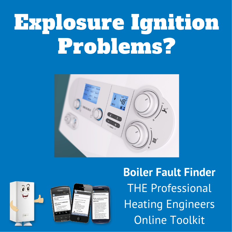 explosive ignition problems