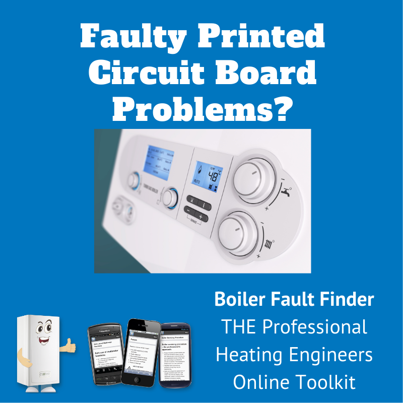 faulty printed circuit board problems
