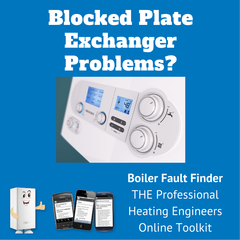 blocked plate exchanger problems