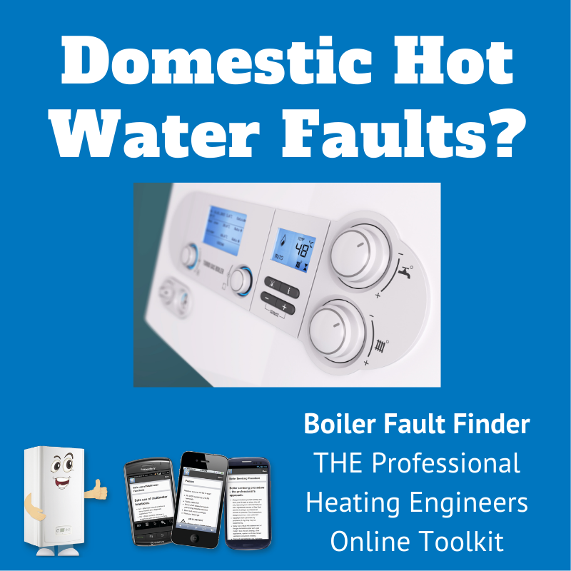 Domestic hot water faults