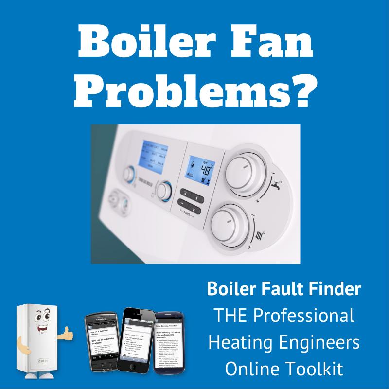 boiler fan problems