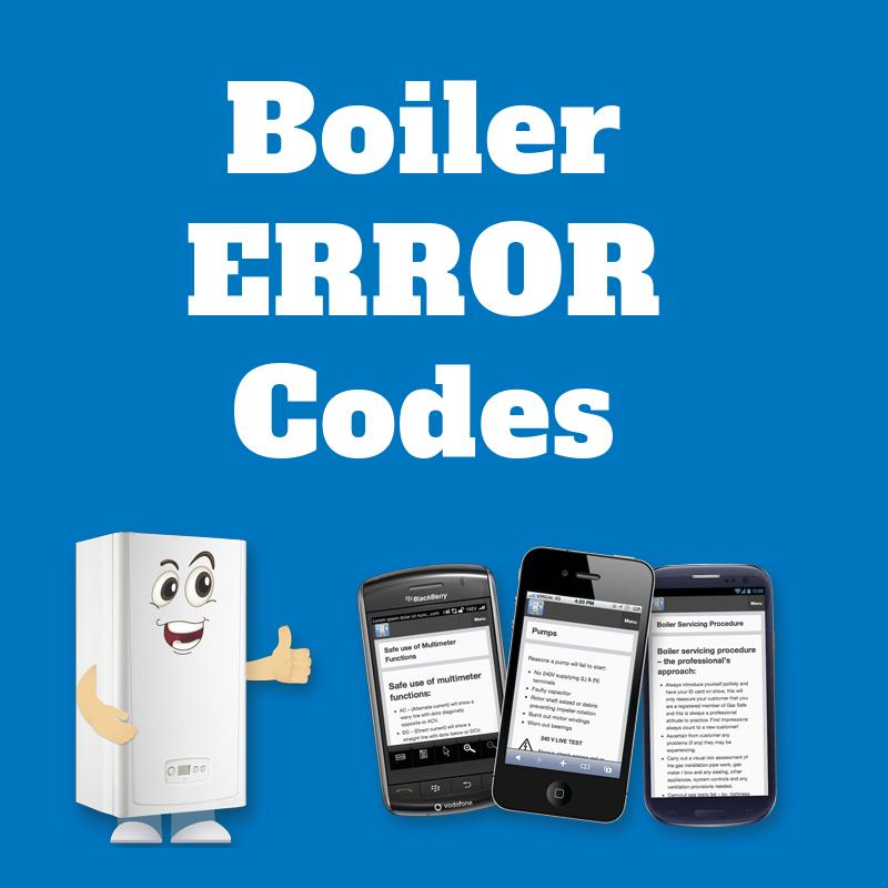 Boiler Fault Error Codes